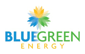 blue green energy logo